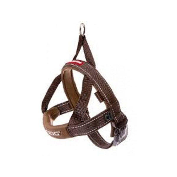 Quick Fit Harness Color : Chocolate Size : Medium