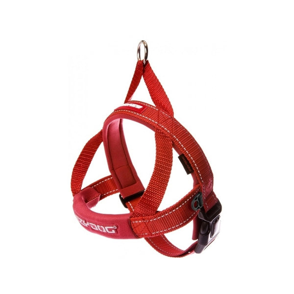 Quick Fit Harness Color : Red, Size Medium