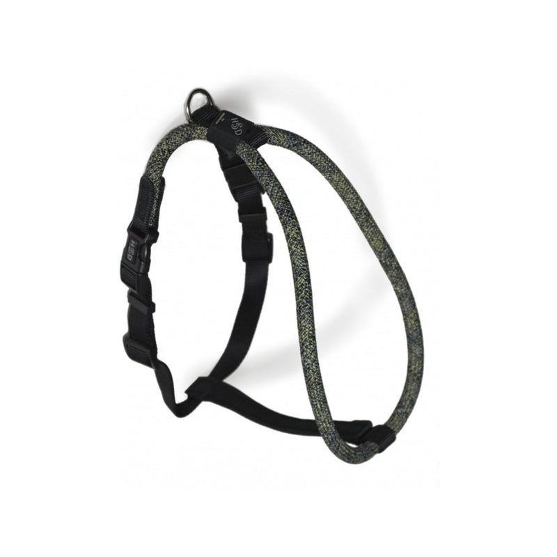 Rope Walker Harness Leisure Size : Small/Medium Color : BYG (black/yellow/grey)