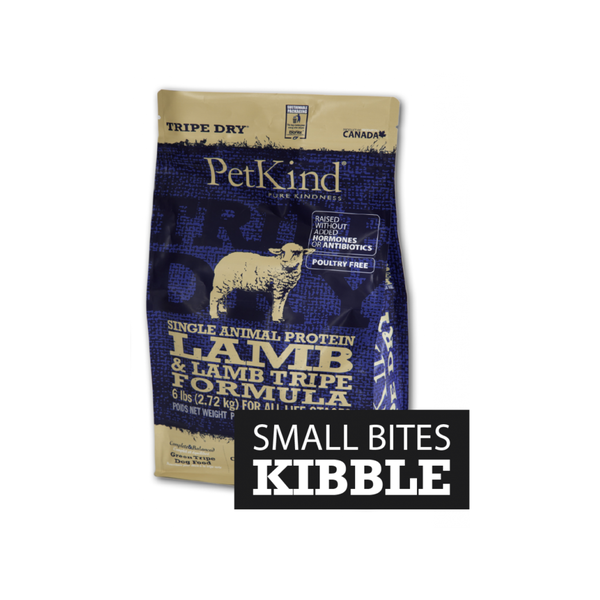 Single Protein SB Lamb & Lamb Tripe Formula Weight : 25lb