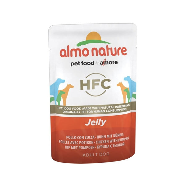 Tuna & Carrot Jelly Pouch for Dogs Weight : 70g