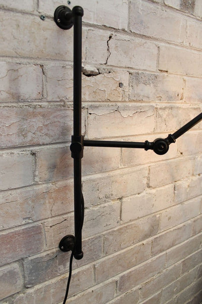 Swing Arm Light Fixture with Wall Plug