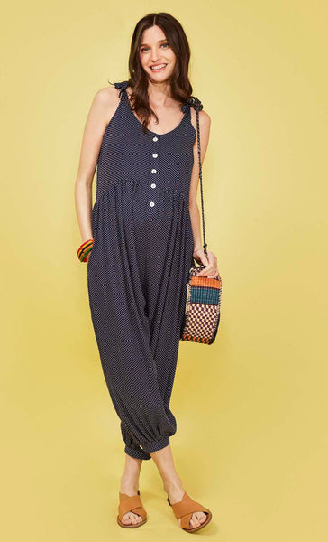 Molly Jumpsuit Polka Dot