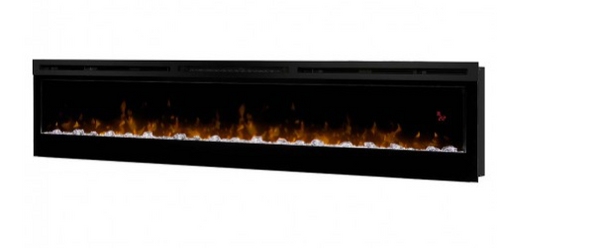 "Prism 74"" Wall-Mount - Dimplex Electric Fireplace"