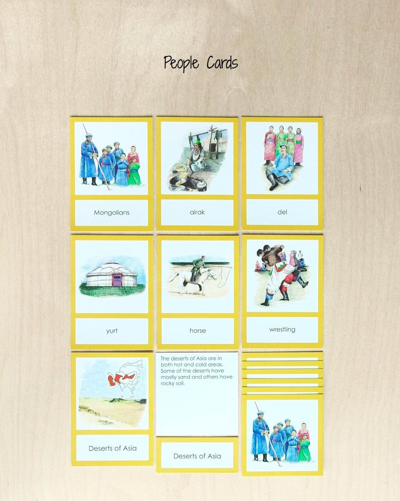 Asia Biome Cards-Primary-people