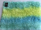 Eddie Long Shaggy Mohair - Hand Dyed Meadow Greens - Fat 1/4m - OCT149