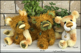 "Dindle - 11"" Hand Dyed Mohair Artist Bear by Emma's Bears - OOAK"