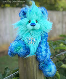 "Sora - 12"" Faux Fur and Mohair Artist Bear by Emma's Bears - OOAK"