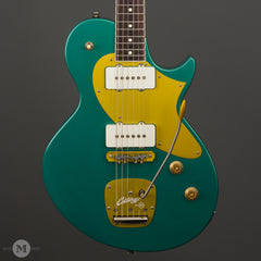 Collings Electric Guitars - 360 LT M Special - Sherwood Green - Aged - Front Close