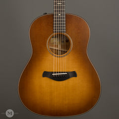 Taylor Acoustic Guitars - 517e Grand Pacific Builder's Edition - Wild Honey Burst - Front Close