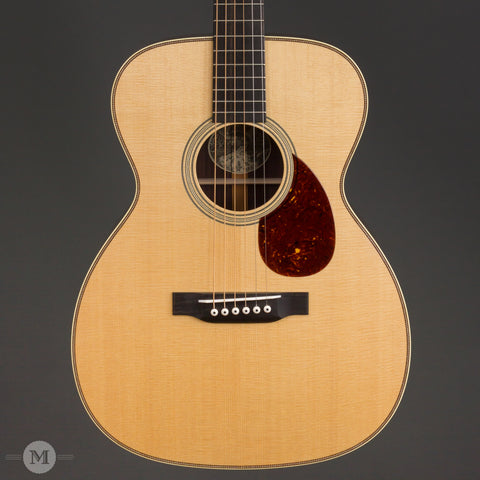 Collings Acoustic Guitars - OM2H Traditional T Series - Front Close
