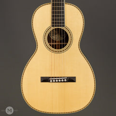 Collings Acoustic Guitars - Parlor Deluxe 2HA MR Traditional T Series - Madagascar Rosewood - Front Close