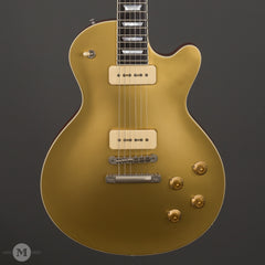 Eastman Electric Guitars - SB56/N-GD P90 Gold Top - Front Close