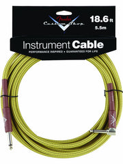 Fender 18.6' Right Angle Tweed Instrument Cable