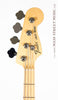 Fender American Special Jazz Bass - head front