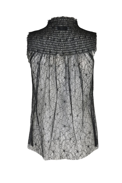 Marie lace top black