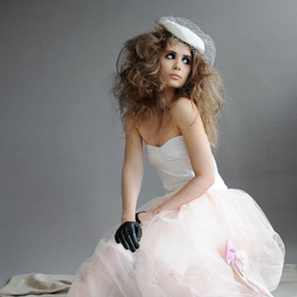 Ines Bridal Wedding Leather Gloves