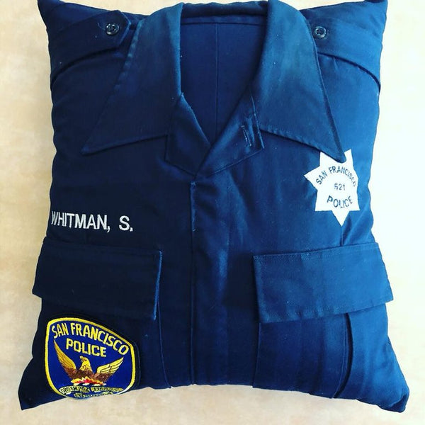Police Uniform Pillows