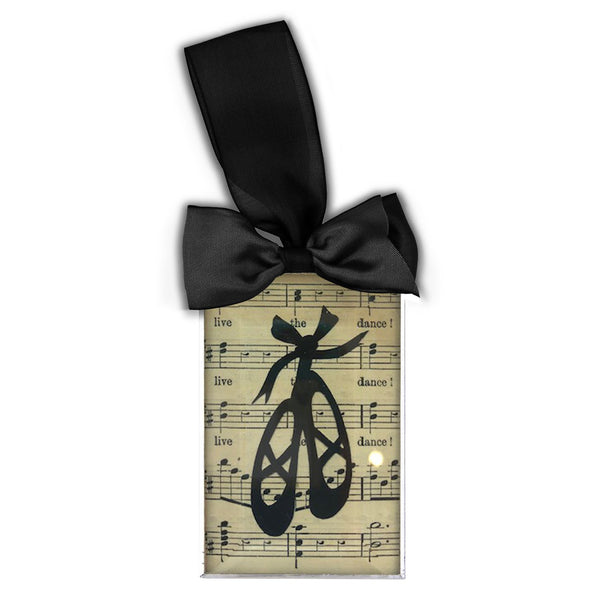 Ballet Shoes Silhouette Ornament
