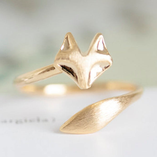 As Seen on the Today Show! Delicate Fox Animal Ring