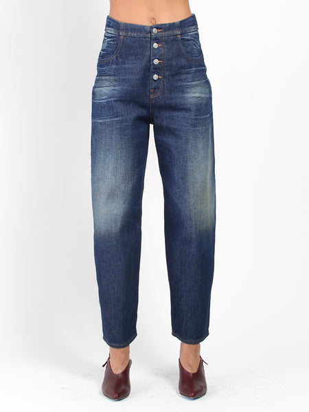 Button Fly Jeans by MM6 Maison Margiela