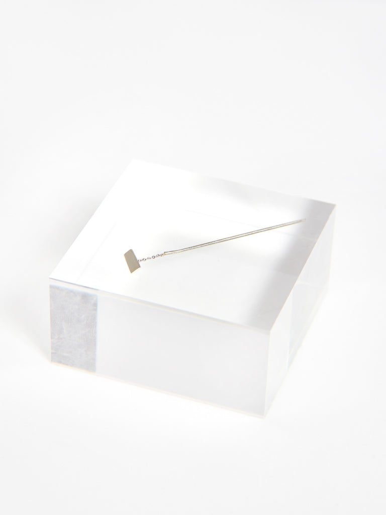 Tili Earring Silver - Long by Still House