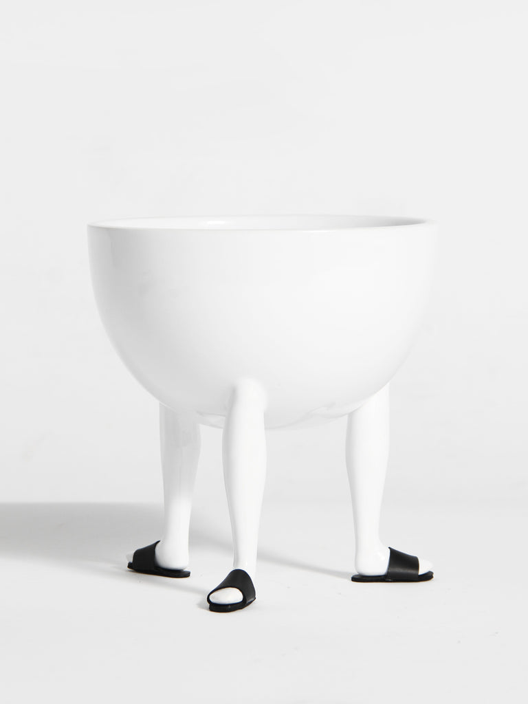 Leg Bowl with Shoes by Chen Chen and Kai Williams