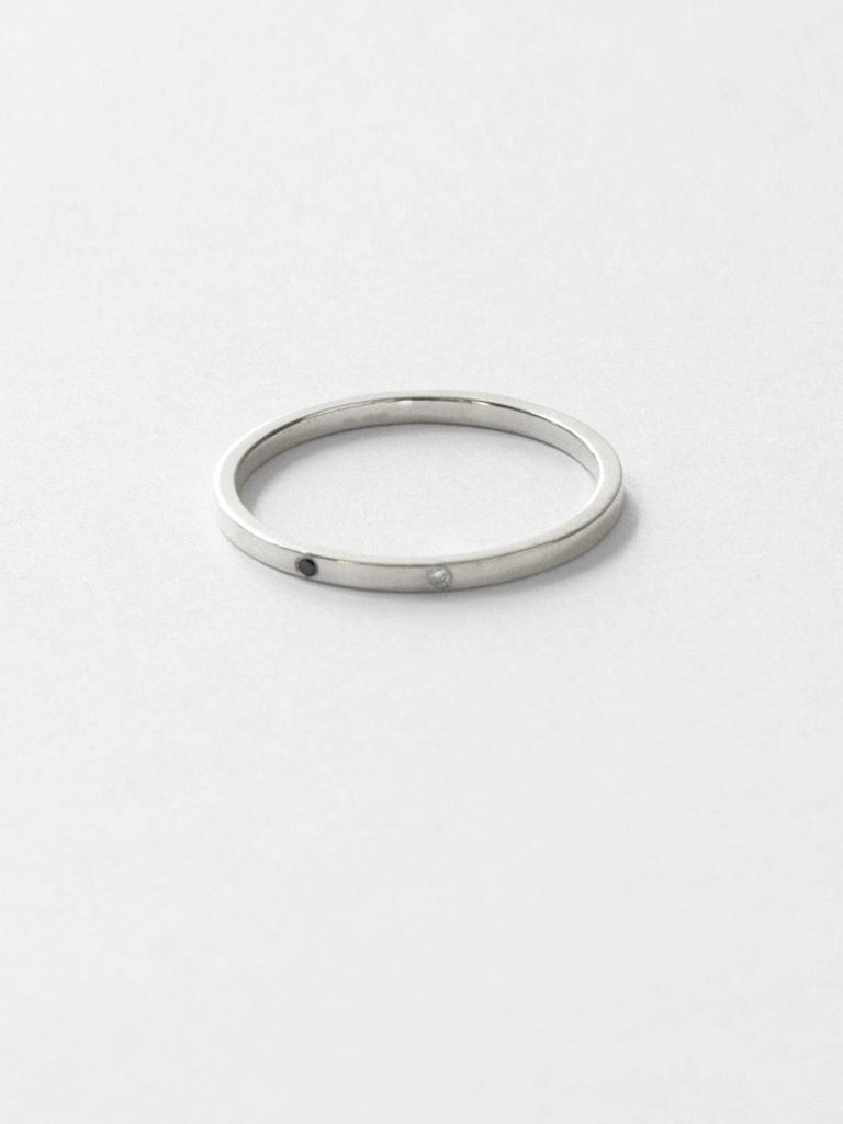 Sarala Ring Silver by Still House