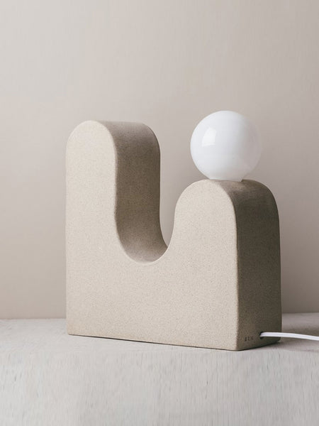 Rolling Hills Table Lamp- Speckled by Sin