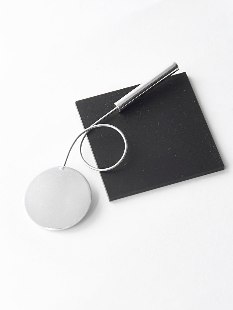 Disc Loop Brooch by Ladies and Gentlemen Studio