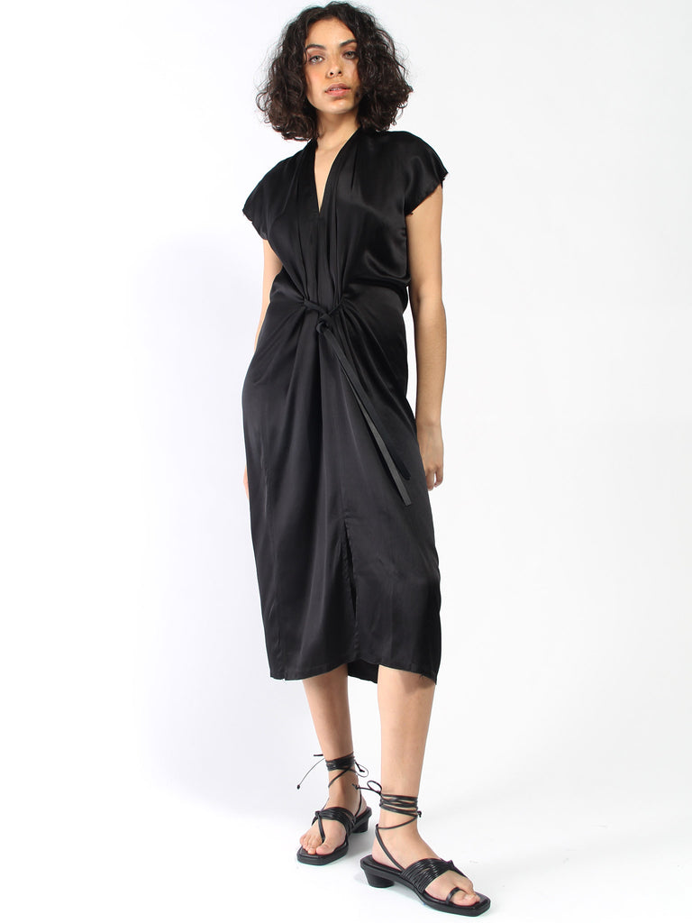 Knot Dress - Black by Miranda Bennett