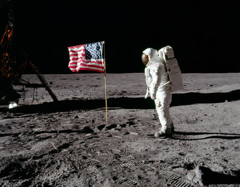 Moon Landing Apollo 11 - Image Credit NASA