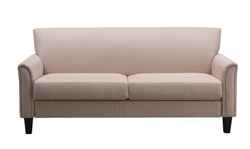 Siena Modern Flared Arm Sofa