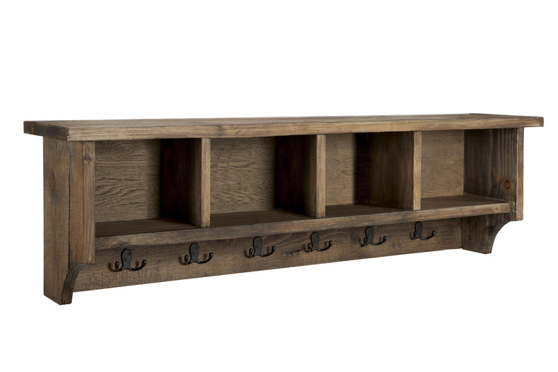 Sylvan Reclaimed Wood Entryway Coat Hook with Storage