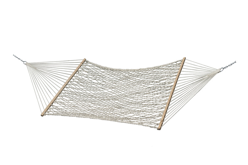 Cotton Rope Hammock - Double - Natural