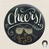 Cheers Big Magnet by Rebecca Jones