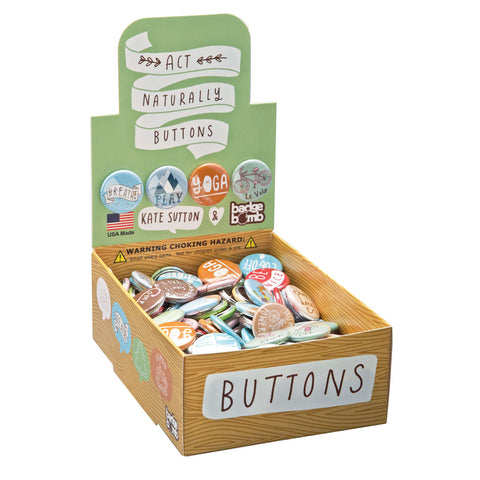Act Naturally Button Box