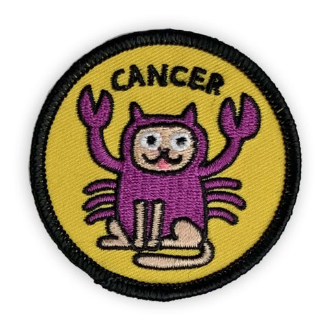 Cancer Catstrology Patch