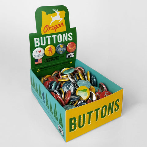 Oregon State Button Box (No PDX buttons)
