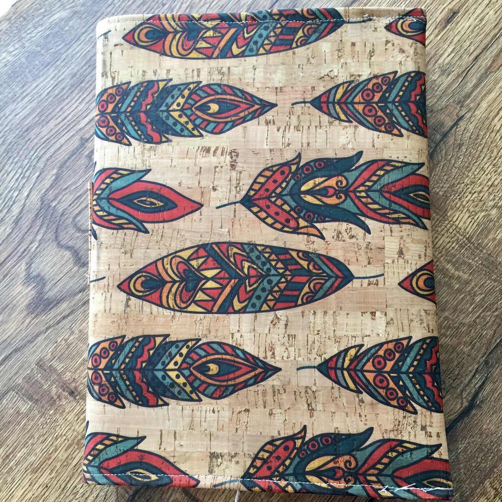 Feathers - Cork Fabric