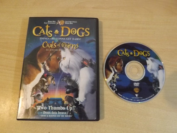 DVD Movie Cats & Dogs Things are Going to Get Hairy Childrens DVD Movie
