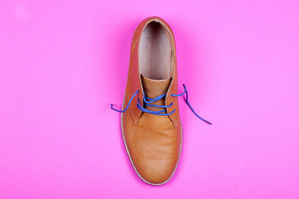 Blue Shoelace by Mavericks Laces Melbourne - Dylan