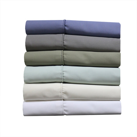 California King PERIWINKLE Cotton Blend 1000 Thread Count Sheets