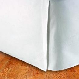 California King Egyptian Cotton Solid Bed Skirt 300 Thread count