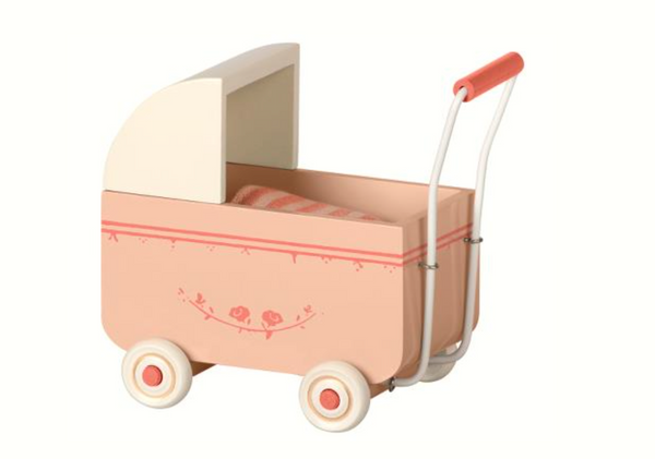 Maileg Pram for My in Pink