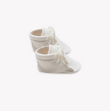 Quincy Mae Baby Booties in Ivory