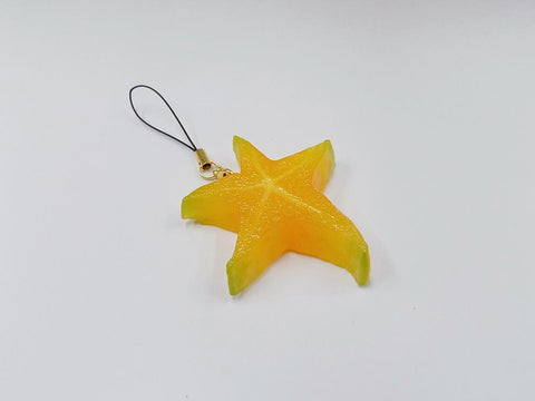 Star-Shaped Fruit Cell Phone Charm/Zipper Pull