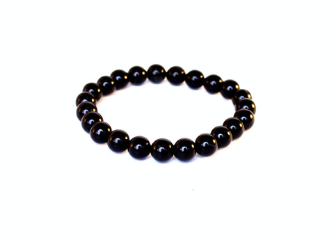 Wellness Black Obsidian Bracelet