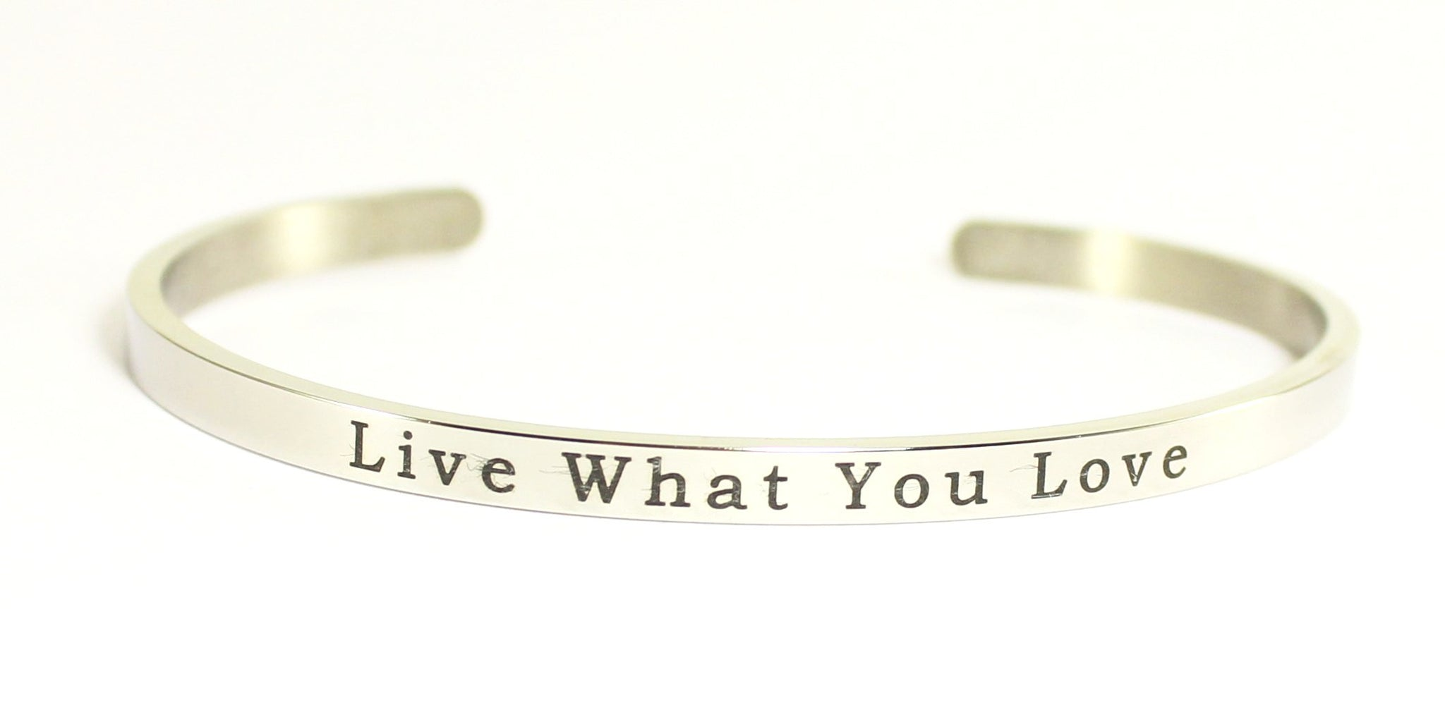 Love Your Life Message Bracelet-Live What You Love