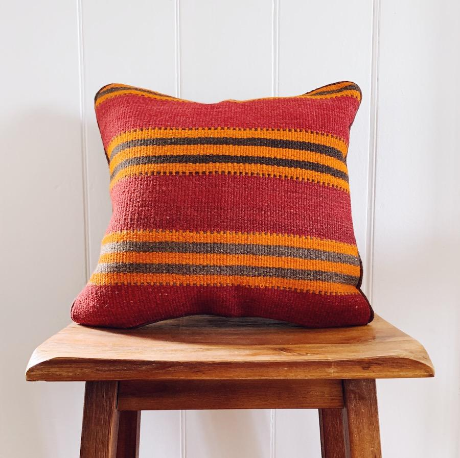 Kilim cushion cover - 13 - Cushion - Bohemian Jewellery and Homewares - Lost Lover